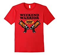 Hasbro Nerf Blaster Weekend Warriors T-shirt Red