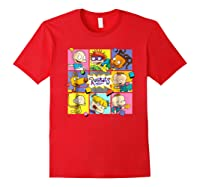 Rugrats Retro Box T-shirt Red