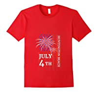 Huntington Beach 4th Of July 2019 Independence Day Shirts Red