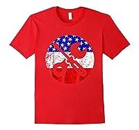 American Flag Car Mechanic Shirt - Screwdriver Wrench Shirt Red
