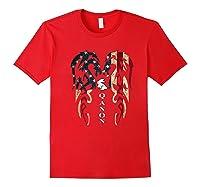 Qanon Rabbit Flag T Shirt Red