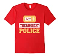 Thermostat Police T-shirt Red