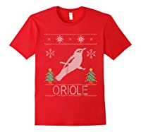 Oriole Christmas Shirts Red