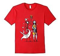Disney Nightmare Gift T Shirt Red