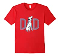 101 Dalmatians Pongo And Penny Dad Shirts Red