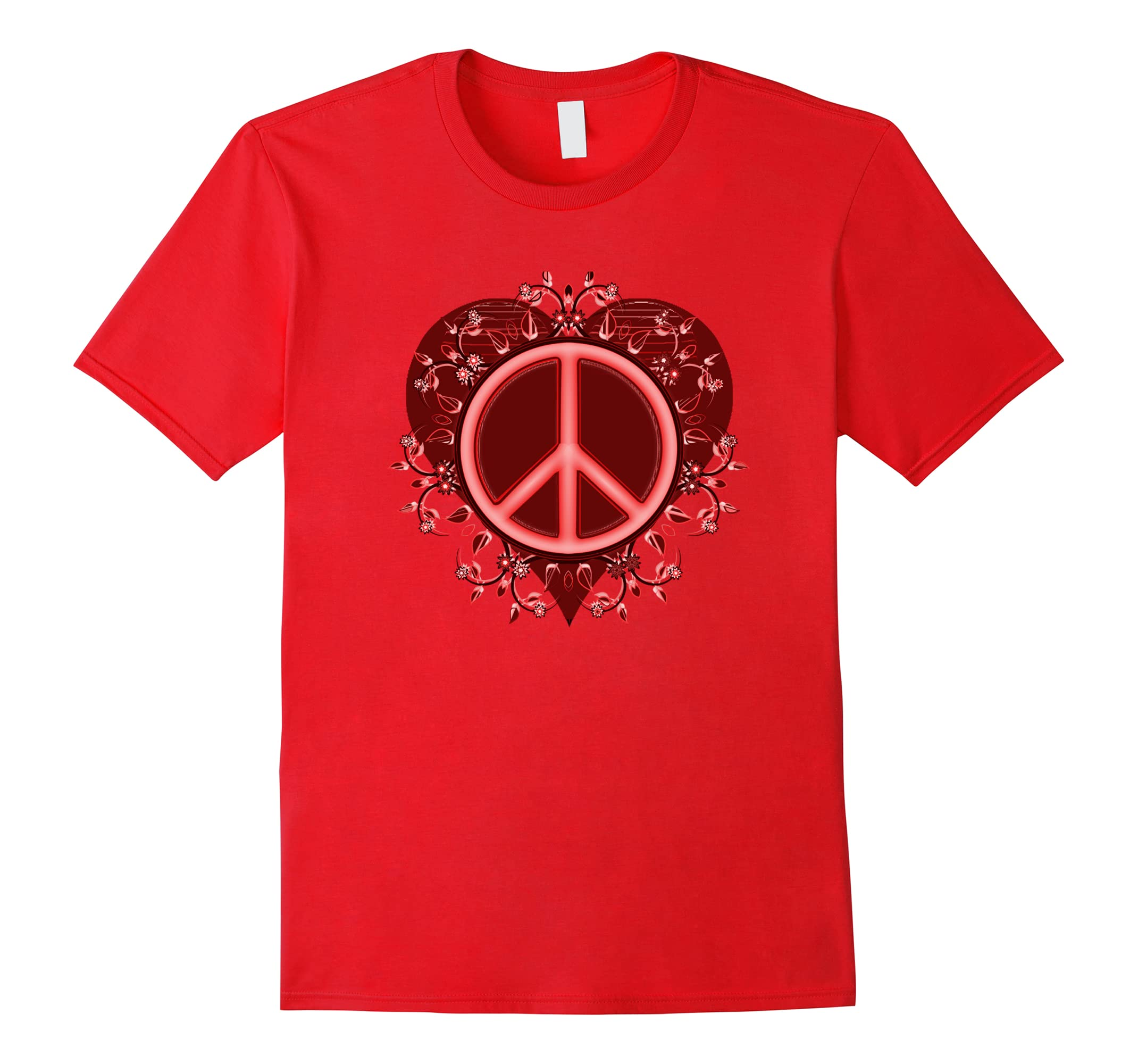 Peace Sign Valentine Tshirt Design For Women Ah My Shirt One Gift