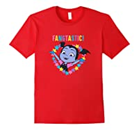 Disney Vampirina Fangtastic T Shirt Red