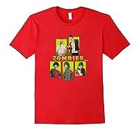 Disney Zombies Zomb5 T Shirt Red