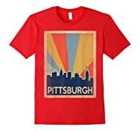 Classic Pittsburgh Shirts Red