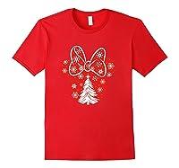 Disney Minnie Tree T Shirt Red