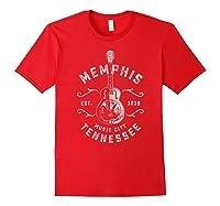 Memphis Music City Usa Vintage T Shirt Red