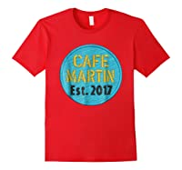 Cafe Martin T-shirt V1.4 Red