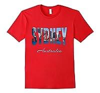 Sydney Australia Shirt Red
