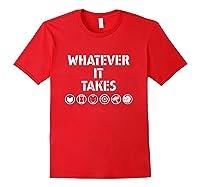 Marvel Avengers: Endgame Whatever It Takes T-shirt Red
