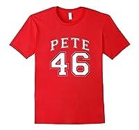 46 Pete Buttigieg 2020 Shirts Red