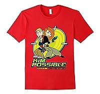 Disney Kim Possible T Shirt Red