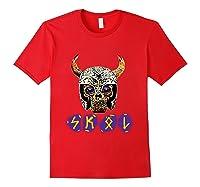 Skol Viking Shirts Red