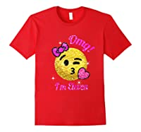 11th Birthday Shirt For Girls Red