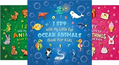 I Spy Books for Kids (3 Book Series)
