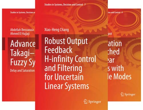 Studies in Systems, Decision and Control (50 Book Series)