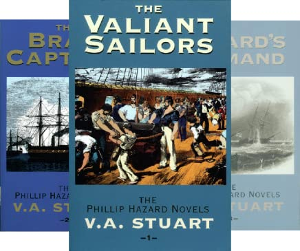 Publication Order of Phillip Hazard Series (as by V A Stuart) Books