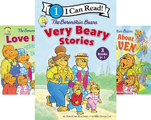 Berenstain Bears/Living Lights: A Faith Story (51-53) (3 Book Series)
