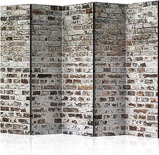 comprar comparacion murando Biombo Ladrillo 225x172 cm de Impresion Unilateral en el Lienzo de TNT de Calidad Decoracion Foto Biombo de Madera...