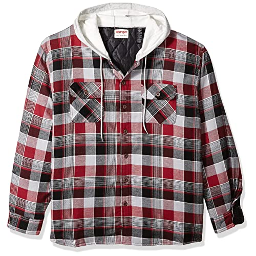 52cb7a42c1ef Flannel with Hood  Amazon.com
