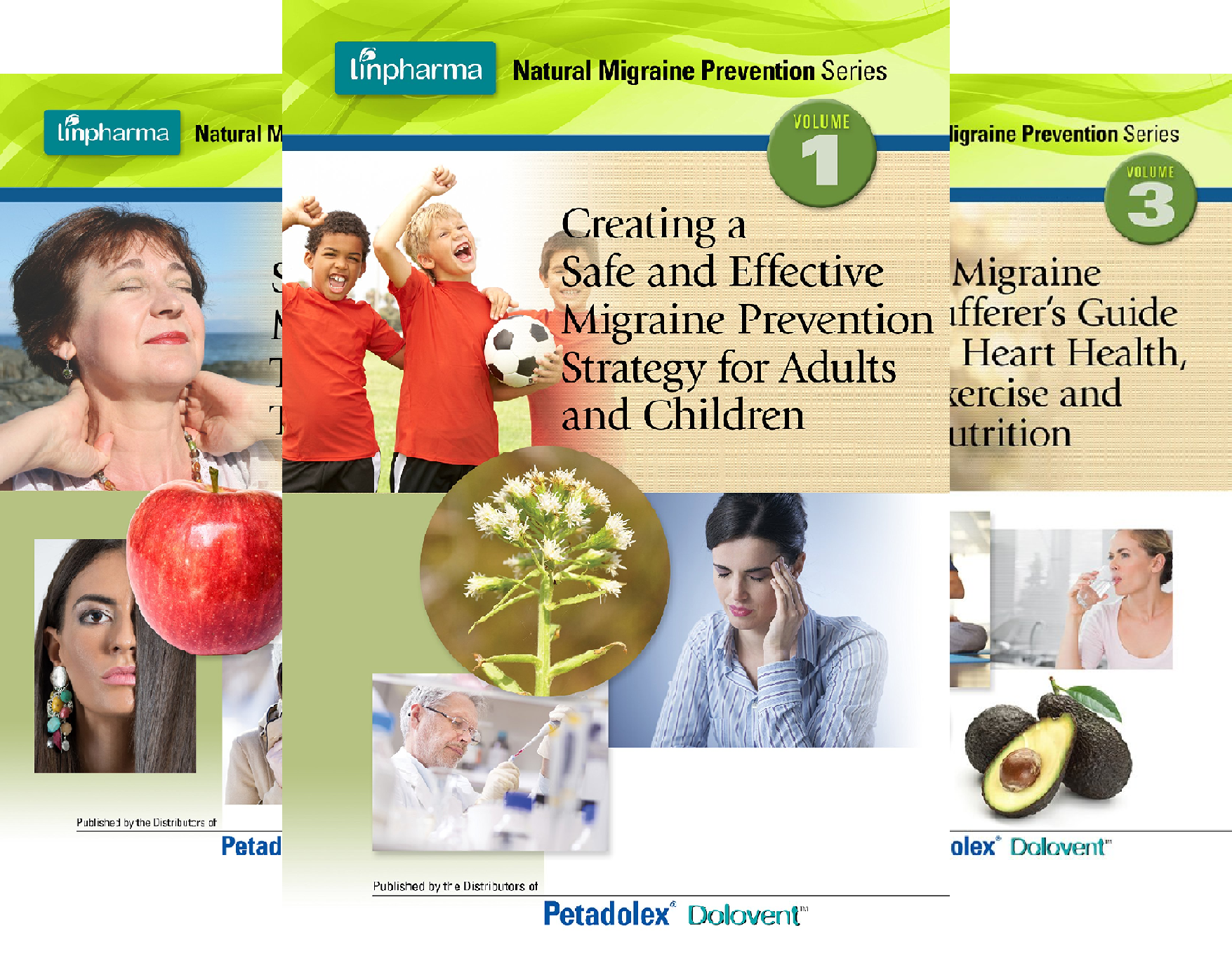Linpharma Natural Migraine Prevention Series (5 Book Series)