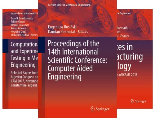 Lecture Notes in Mechanical Engineering (51-100) (50 Book Series)