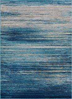 Well Woven Layla Stripes Blue Tribal Area Rug 3x5 (3'3
