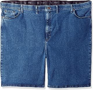 Wrangler Mens Big & Tall Comfort Waist Denim Short Denim Shorts - Blue