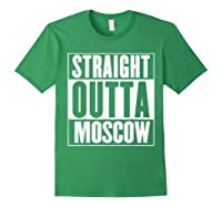 Straight Outta Moscow Shirts Forest Green
