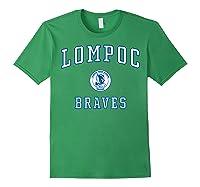 Lompoc High School Braves C1 Shirts Forest Green