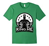 Grand Arte: King Me Boxing T-shirt Forest Green
