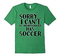 Grandpa Grandma | My Granddaughter Has Soccer T-shirt Forest Green