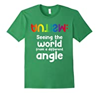 Special Needs Tea Student Gift Autism Awareness Month Shirts Forest Green