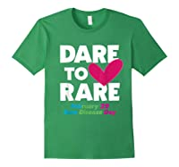 Dare To Love Rare Disease Day 2020 Shirts Forest Green