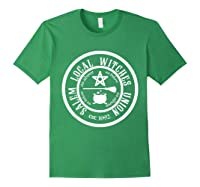 Salem Local Witches Union Est 1692 Halloween Shirts Forest Green