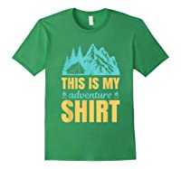 Hiking Outdoor Lover Mountains Hiker Shirts Forest Green