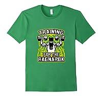 Viking Training For Ragnarok Gym Shirts Forest Green