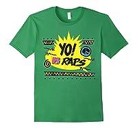 Mtv Yo! Raps Shirts Forest Green