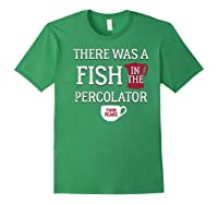 Twin Peaks There Was A Fish In The Percolator Shirts Forest Green