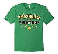 Smashville Nashville Proud Hockey Shirts Forest Green