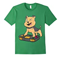 Airedale Terrier Gamer Gaming Videogames Kawaii Gift T-shirt Forest Green