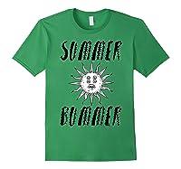 Summer Bummer Seapunk Shirts Forest Green