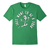 Pixar Toy Story 4 Forky I Don't Belong Poster Shirts Forest Green