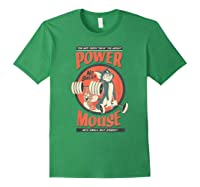 Tom And Jerry Power Mouse T-shirt Forest Green