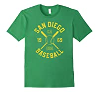 San Diego Baseball Vintage Padre Retro Gift Shirts Forest Green