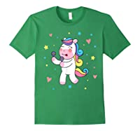 Cute Unicorn, Gift For Unicorn Lover Unicorn Lover Gift Shirts Forest Green